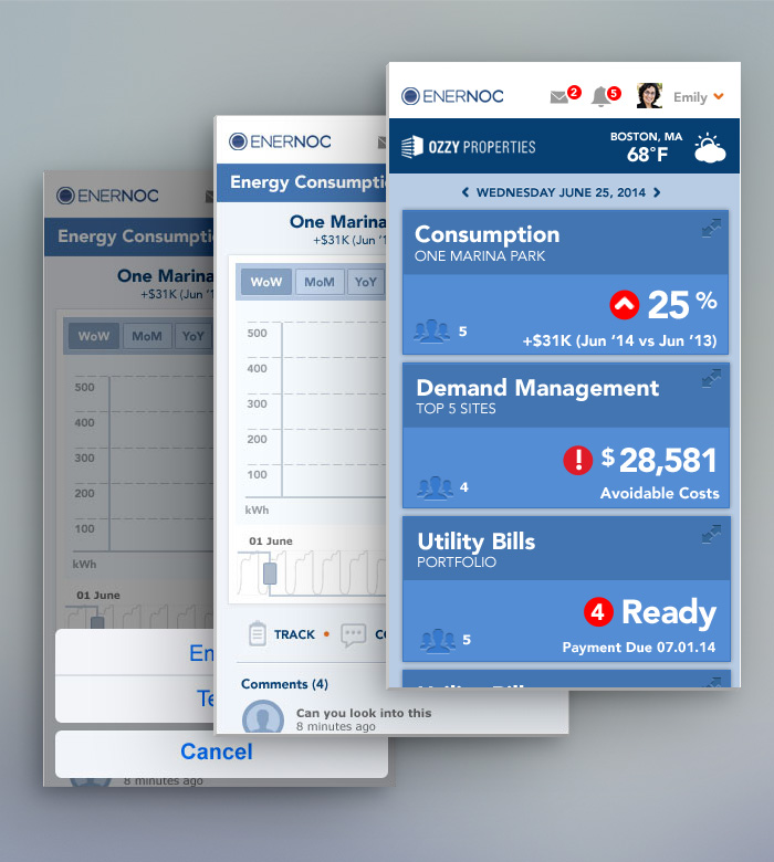 Enernoc Dashboard Concepts